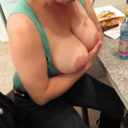 Large tits of a neighbor - Beba69