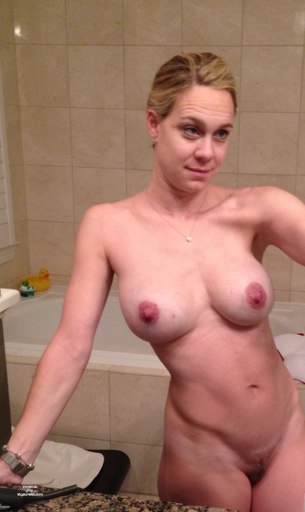 Pic #1 Large tits of my wife - jane doe
