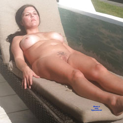 Nude In The Sun - Nude Girlfriends, Big Tits, Blonde, Outdoors, Shaved, Amateur, Tattoos