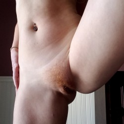 Small tits of my wife - Ginger