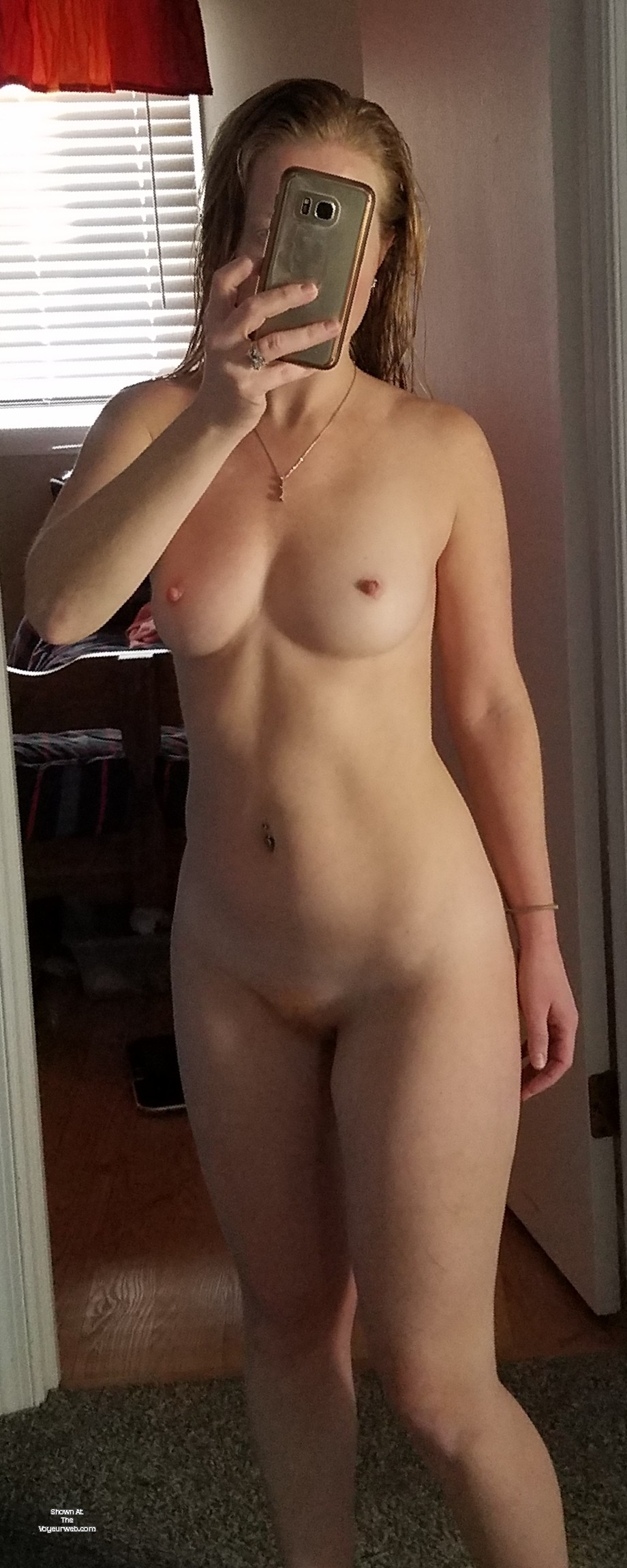 Small tit wife