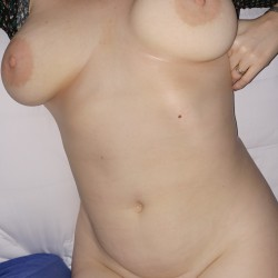 Large tits of my girlfriend - D Cup