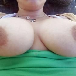 Large tits of my wife - NHWife