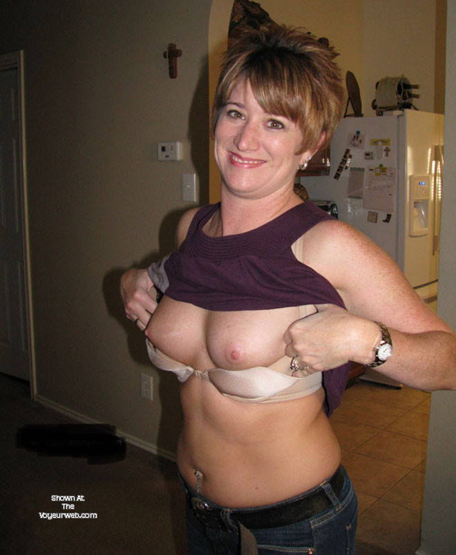 Pic #1 Medium tits of my wife - Redhot9