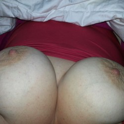 Very large tits of a co-worker - Annna