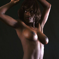 Artistic Lighting - Nude Girls, Big Tits, Ebony