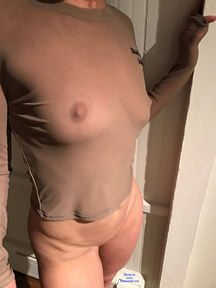 50yo blonde with great tits