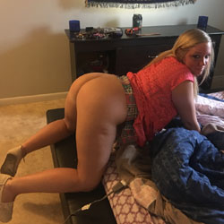 Kirsty's Sexy Ass - Blonde, Amateur