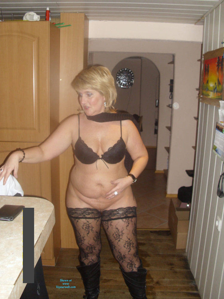 Pic #1Sabine 8 - Lingerie, Mature, Shaved, Amateur, Pantieless Girls