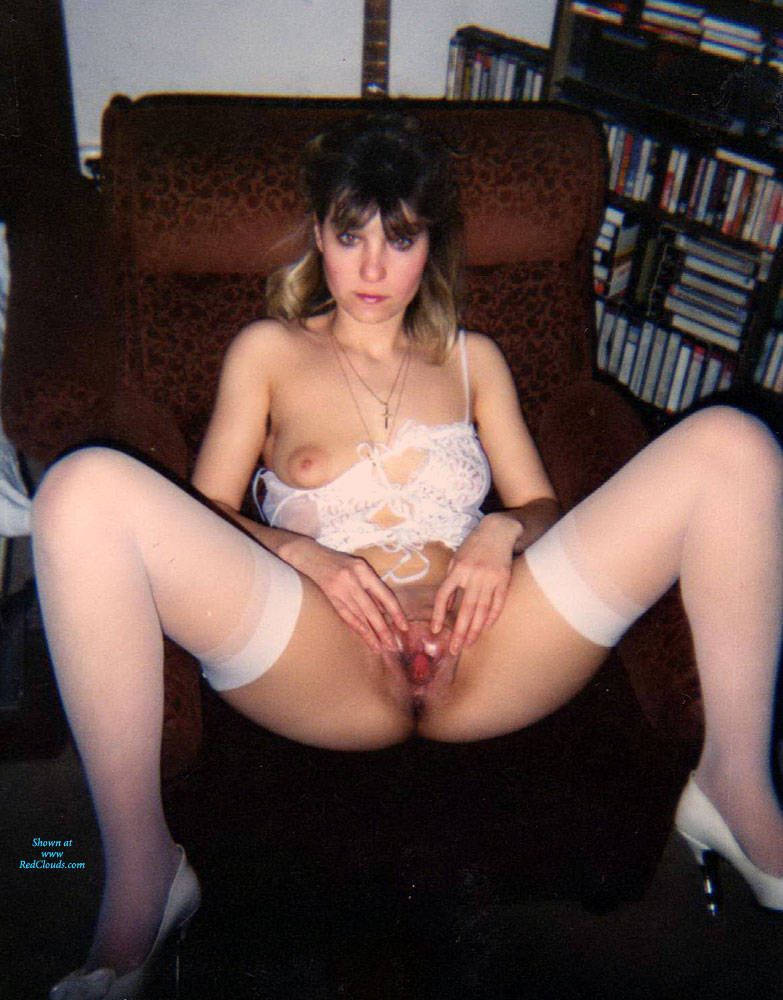 Pic #1Naked Wife - Wives In Lingerie, Shaved, Legs Spread Wide Open, Amateur