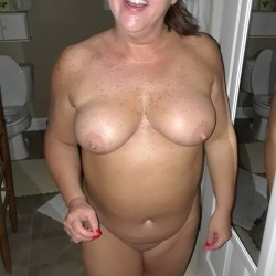 Medium tits of a neighbor - Amy's Tits