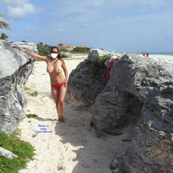Tetona Gaby Mexico - Topless Girls, Beach, Big Tits, Outdoors, Amateur