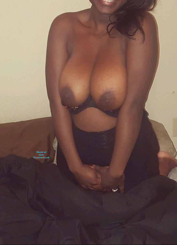 Pic #1 Tease In Sheer Bra - Big Tits, Wife/wives, Amateur