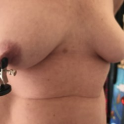 Medium tits of my wife - Lisam