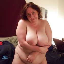 Linn At Home - Nude Amateurs, Bbw, Big Tits, Brunette, See Through