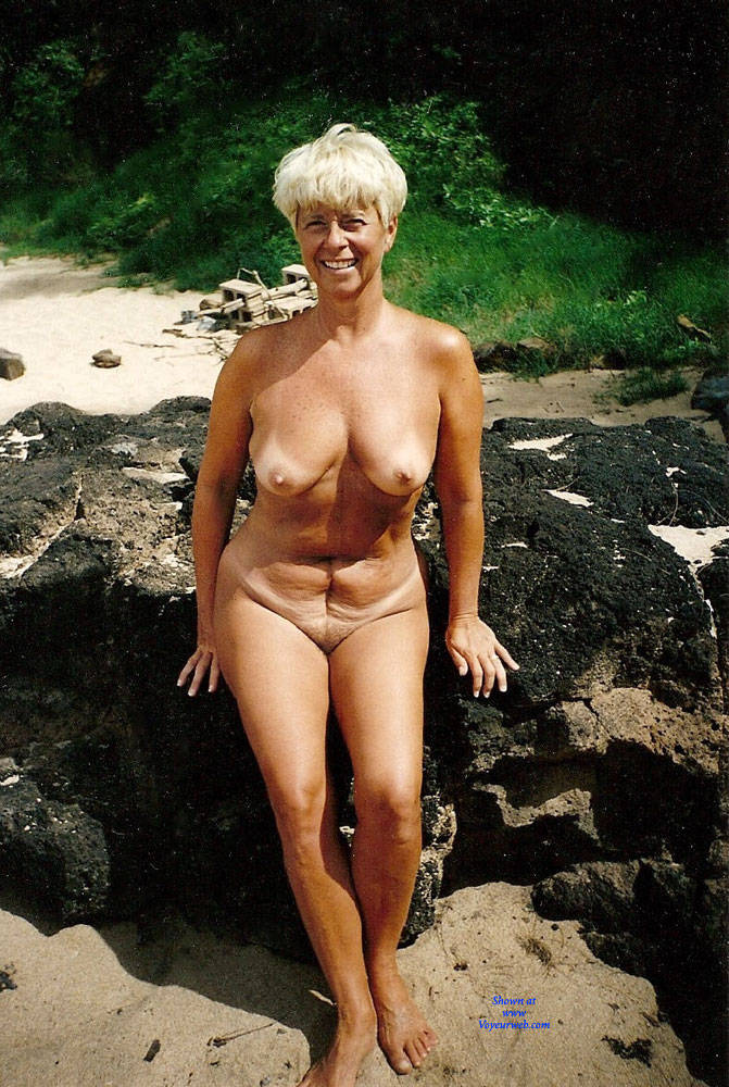 Pic #1Debbie Nude On Secret Beach - Nude Wives, Big Tits, Outdoors