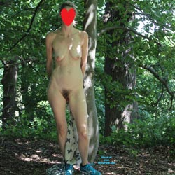 In The Forest - Nude Girls, Outdoors, Nature, Bush Or Hairy, Amateur