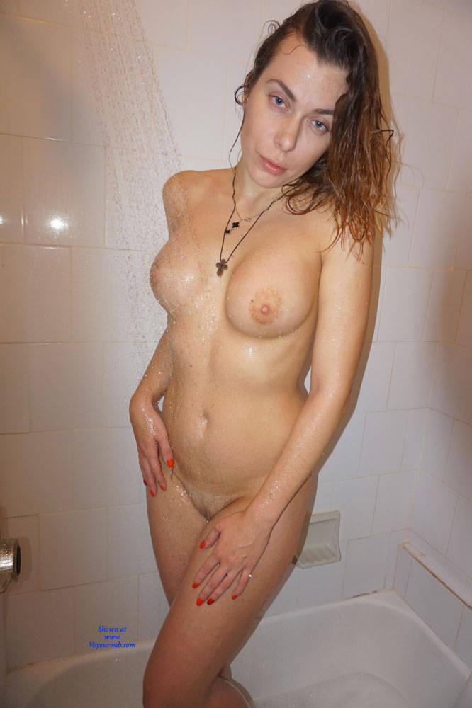 Hot nude amateur brunettes in black lingerie fucking