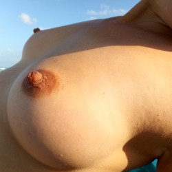 Small tits of my wife - My wife