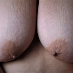 Large tits of my wife - Dusty