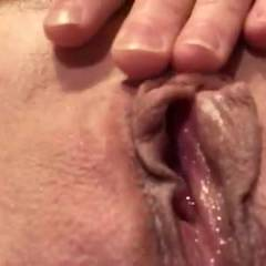 Wet And Open - Shaved, Close-ups, Pussy