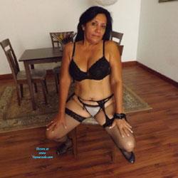 La Goajira Maracucha VI - Brunette, Lingerie, Stockings Pics, High Heels Amateurs