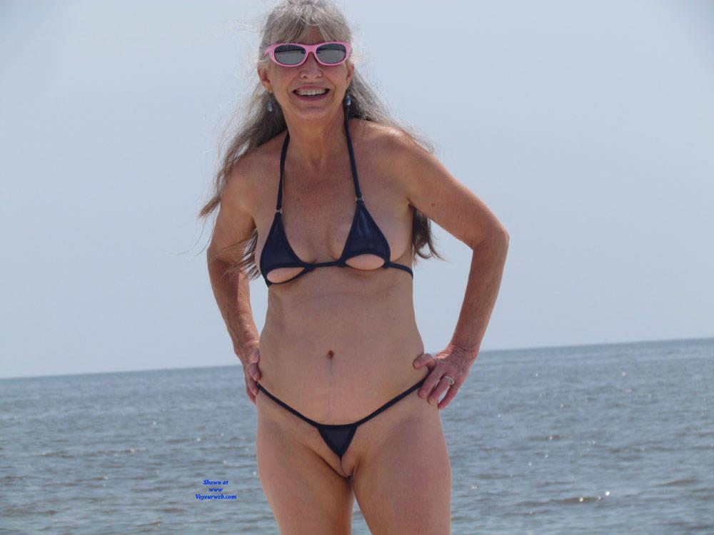 micro bikini women Older