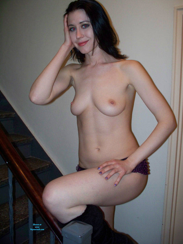 her Topless Pose On Stairs - Brunette Hair, Indoors, Natural Tits, Nipples, Showing Tits, Small Breasts, Small Tits, Topless Girl, Topless, Hot Girl, Sexy Body, Sexy Face, Sexy Figure, Sexy Girl, Sexy Legs, Sexy Panties, Sexy Woman , Topless, Small Tits, Nipples, Legs, Pantie