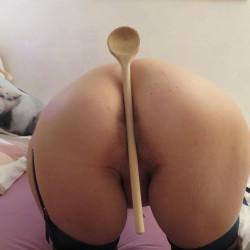 My girlfriend's ass - Andrea
