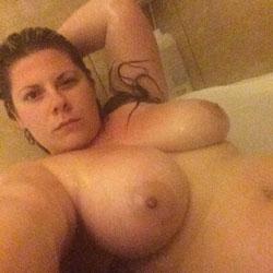 Shower Fun - Big Tits, Brunette, Amateur, Wife/wives