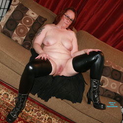 Lounging Around - Big Tits, High Heels Amateurs, Redhead, Shaved