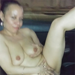 Naked In NYC Cab FDR Drive