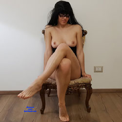 More Footjob - Nude Girls, Brunette, Shaved, Foot Job