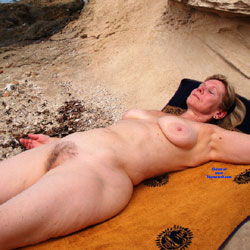 Francine Nude - Nude Amateurs, Beach, Big Tits, Outdoors, Bush Or Hairy