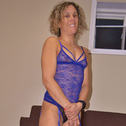 Some New Lingerie With Boots - Blonde, Lingerie, Amateur