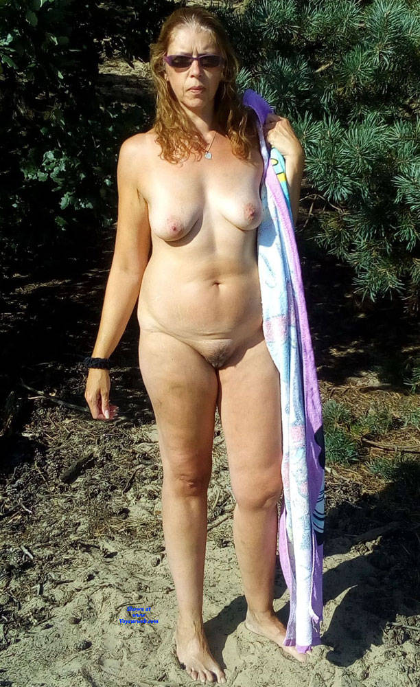 Pic #1 Dutch Tineke 50 Year Love To Pose And Expose - Nude Girls, Mature, Outdoors, Redhead, Bush Or Hairy, Amateur