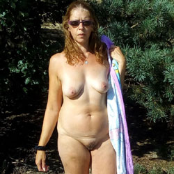 Dutch Tineke 50 Year Love To Pose And Expose - Nude Girls, Mature, Outdoors, Redhead, Bush Or Hairy, Amateur