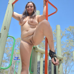 Valeria - Nude Girls, Big Tits, Brunette, Outdoors, Shaved, Amateur