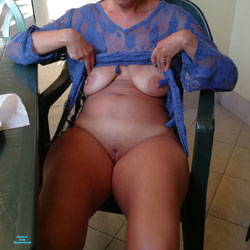 After Beach - Pantieless Wives, Outdoors, See Through, Shaved, Amateur
