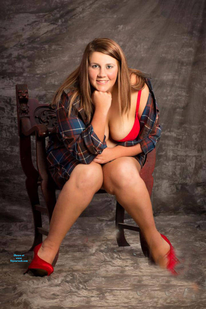 Pic #1 Just Teasing - Big Tits, Lingerie, Amateur