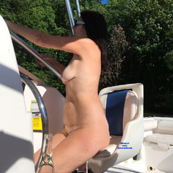 Naked Gun On The Lake - NC  - Nude Girls, Big Tits, Brunette, Outdoors, Amateur