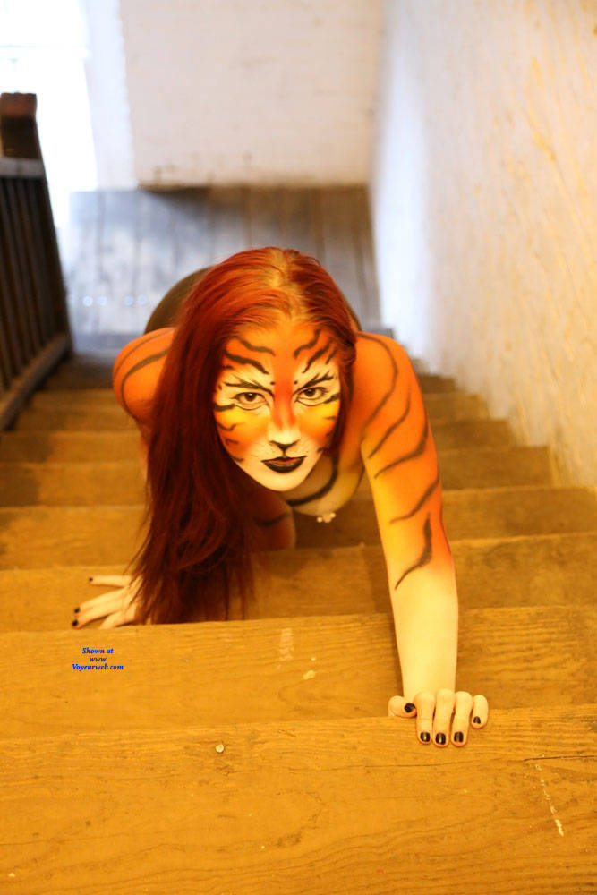 Pic #1Tiger Time - Topless Girls, Redhead, Amateur