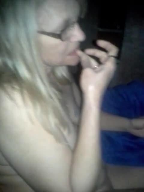 Pic #1Roberta Sucking Cock - Blonde, Blowjob, Amateur