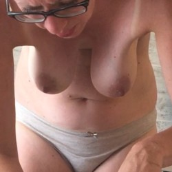 Large tits of my wife - Katy!