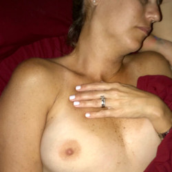 Medium tits of my wife - My Wife