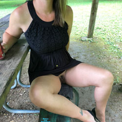 Just Me Against The World - High Heels Amateurs, Mature, Outdoors, Bush Or Hairy