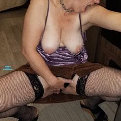 She Shook Me All Night - Big Tits, Brunette, Lingerie, Mature, Amateur