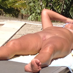 A Day In The Sun - Outdoors, Shaved, Amateur
