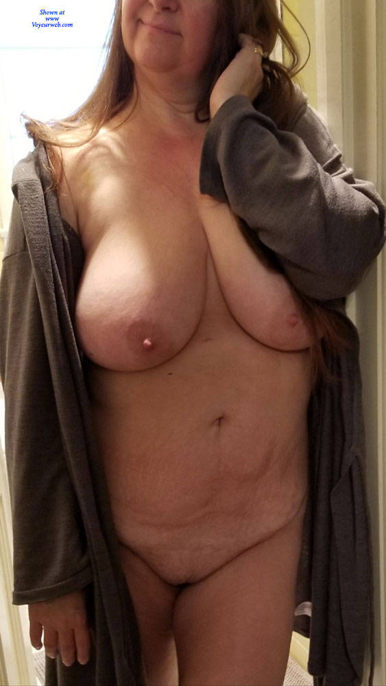 Pic #1 My Jiggly Wife Nude - Nude Wives, Big Tits, Shaved, Amateur