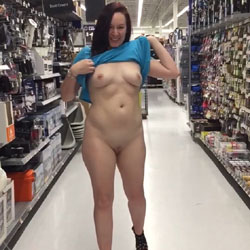 Shopping Nude In Public